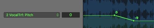 Vocal Transformer 自动化曲线